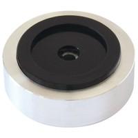 Dynavox BIG50 Silver Aluminium Füsse für Lautsprecher und Geräte – Bild 1