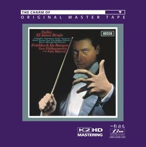 Frühbeck de Burgos & New Philharmonia Orchestra - Falla: El Amor Brujo - LIM K2 HD - CD