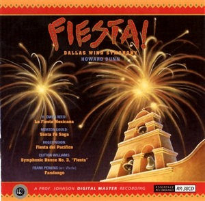Howard Dunn & Dallas Wind Symphony ? Fiesta! - Reference Recordings