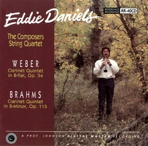 Eddie Daniels & The Composers String Quartet: We............. - Reference Recordings