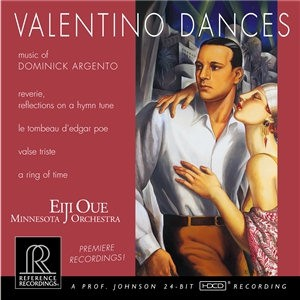 Eiji Oue & Minnesota Orchestra: Dominick Argento ? Valentino Dances - HDCD Reference Rec.