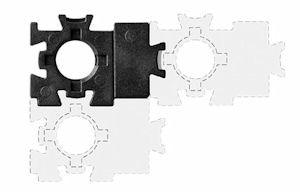 WBT Puzzle-Scheiben für Polklemmen