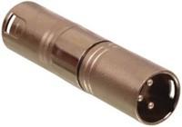 Neddrix Adapter XLR-3-pol-Stecker auf XLR-3pol-Stecker