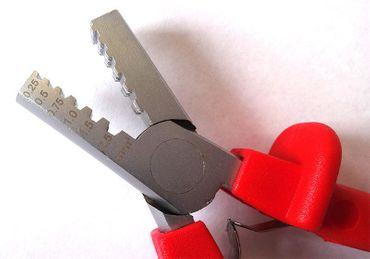 Crimpzange SMALL - 0,25 bis 2,5qmm Aderendhülsen – Bild 2