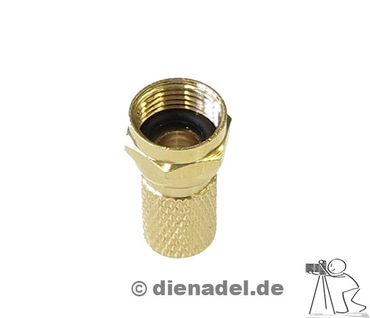 PHX 069 F-Stecker vergoldet – Bild 1