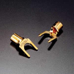 Furutech Gabelkabelschuh - FP 203 vergoldet oder rhodiniert – Bild 1