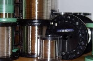 German Highend GH-Reinsilberleiter solidcore grobkristallin (5N) - 1,00mm - Meterware