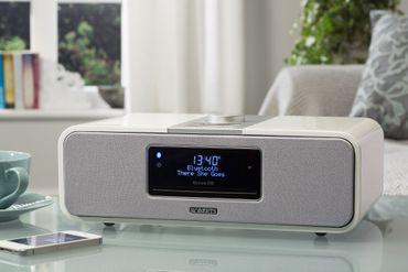 Roberts Radio BluTune200 Weiß DAB+ / Bluetooth Tischgerät der Spitzenklasse mit Rekorder – Bild 3