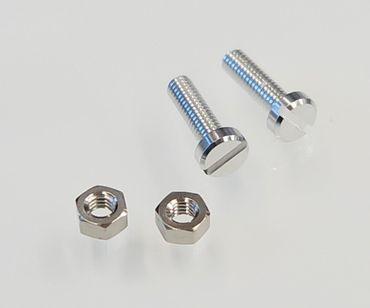 XinnTox® EAsy 2,5 Alu Tonabnehmer Schraubensatz