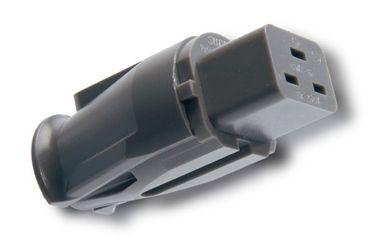 Supra Cables 16A Kaltgerätekupplung SWF-16 - Anthrazit