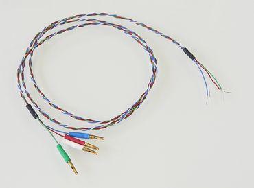 Cardas HSL 24 PCC EG Tonarminnenkabel - 0,60 Meter