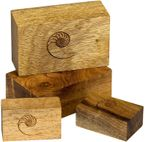 Cardas Golden Cuboids Myrtle Wood Blocks L - 6er Set