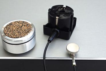 bfly-audio - PowerBase L - Schwarz - Absorberbasis - 500 x 400 x 64 mm  – Bild 2