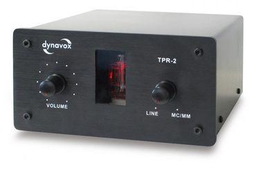 Dynavox TPR-2 - Phono Vorverstärker für MM+MC-Systeme - Schwarz – Bild 1