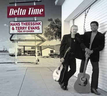Hans Theessink & Terry Evans - Delta Time - 180gramm VINYL-LP - Blue Groove