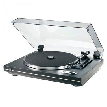Dual CS455-1 EV - Schwarz - Voll-Automatik Schallplattenspieler mit Phonovorverstärker – Bild 1