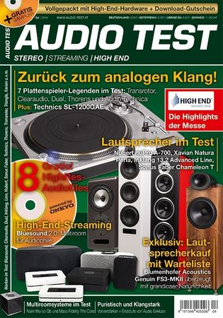 AUDIO TEST - Stereo | Streaming | High End - Ausgabe 4-2016