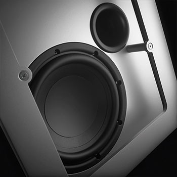 Piega PS 1 - Weiss RAL9016 - Aktiver Subwoofer – Bild 2