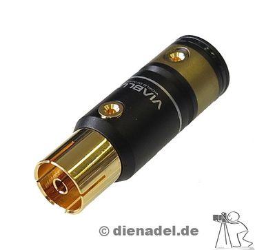 ViaBlue™ T6s Antennen Koax-Kupplung - Schraubversion – Bild 1