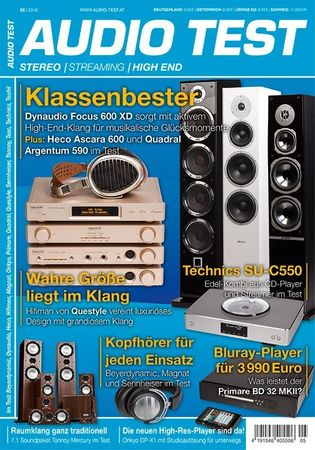 AUDIO TEST - Stereo | Streaming | High End - Ausgabe 5-2016