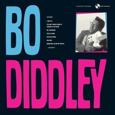 Bo Diddley - His Underrated - 180 gramm LP - PAN AM records