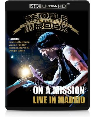 Michael Schenker Temple Of Rock- On A Mission Live In Madrid - Ultra HD Blu-ray