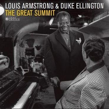 Louis Armstrong & Duke Ellington - The Great Summit - 180gramm LP - Jazz Images