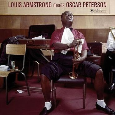 Louis Armstrong Meets Oscar Peterson - 180gramm LP - Jazz Images
