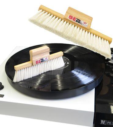 XinnTox® BEBrushed - WhiteSeries - LP Bürste mit Ziegenhaar – Bild 1