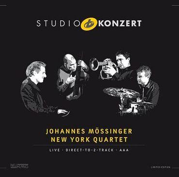 Johannes Mössinger New York Quartet - Studio Konzert - 180gramm VINYL-LP - Neuklang