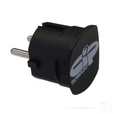 Creaktiv Systems Power-Plug Optimizer Abschlußstecker - Schwarz – Bild 1