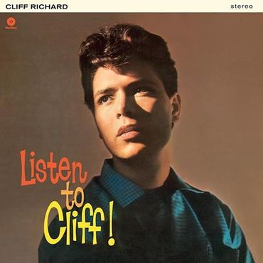 Cliff Richard - Listen To Cliff Richard - Limited Edition 180gramm VINYL-LP - WaxTimeRecords