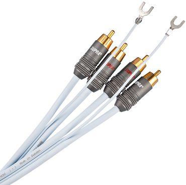 Supra Cables PHONO 2RCA-SC Phonokabel