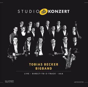 Tobias Becker Bigband - Studio Konzert - 180gramm VINYL-LP - Neuklang