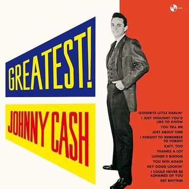 Johnny Cash - Greatest - 180 gramm LP - PAN AM records