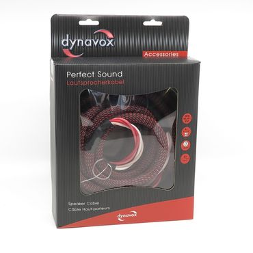 Dynavox Perfect Sound Lautsprecherkabel - 2 x 2,00 Meter – Bild 1