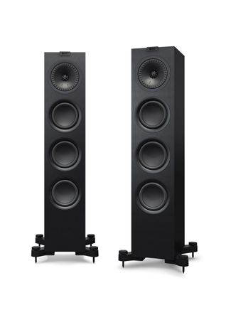 KEF Q-Serie Q550 Satin-Finish Black Standlautsprecher