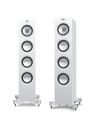KEF Q-Serie Q550 Satin-Finish White Standlautsprecher