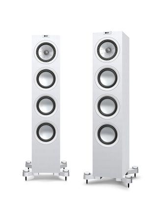 KEF Q-Serie Q550 Satin-Finish White Standlautsprecher