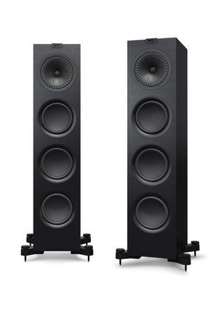 KEF Q-Serie Q750 Satin-Finish Black Standlautsprecher