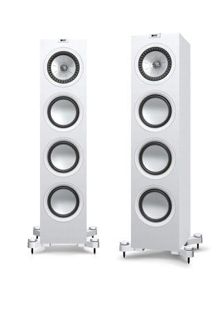 KEF Q-Serie Q750 Satin-Finish White Standlautsprecher