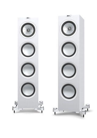 KEF Q-Serie Q750 Satin-Finish White Standlautsprecher