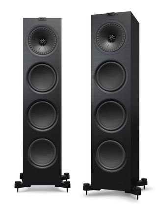KEF Q-Serie Q950 Satin-Finish Black Standlautsprecher