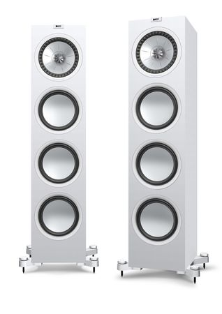 KEF Q-Serie Q950 Satin-Finish White Standlautsprecher