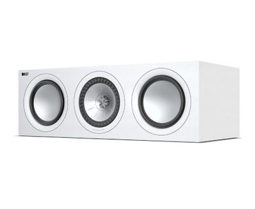 KEF Q-Serie Q650c Satin-Finish White Center Lautsprecher