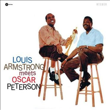 Louis Armstrong Meets Oscar Peterson - 180gramm VINYL-LP - WaxTimeRecords