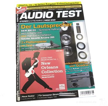 AUDIO TEST - Stereo | Streaming | High End - Ausgabe 6-2017