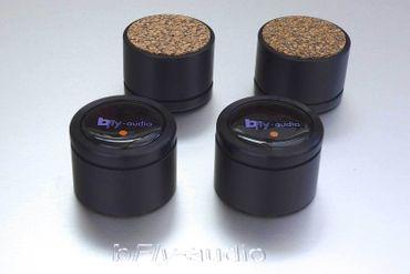 bfly-audio - PURE - 31mm Schwarz - Absorber - 4er Set