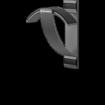 Oehlbach Alu Style W1 Kopfhörer Wandhalter - Anthrazit – Bild 1