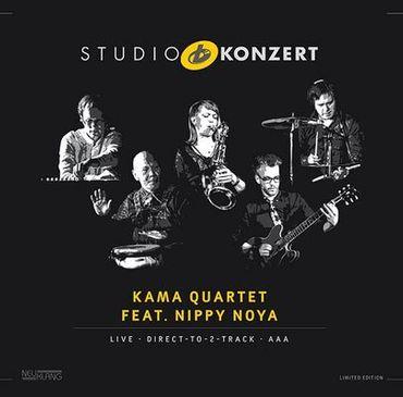 Kama Quartet feat. Nippy Noya - Studio Konzert - 180gramm VINYL-LP - Neuklang